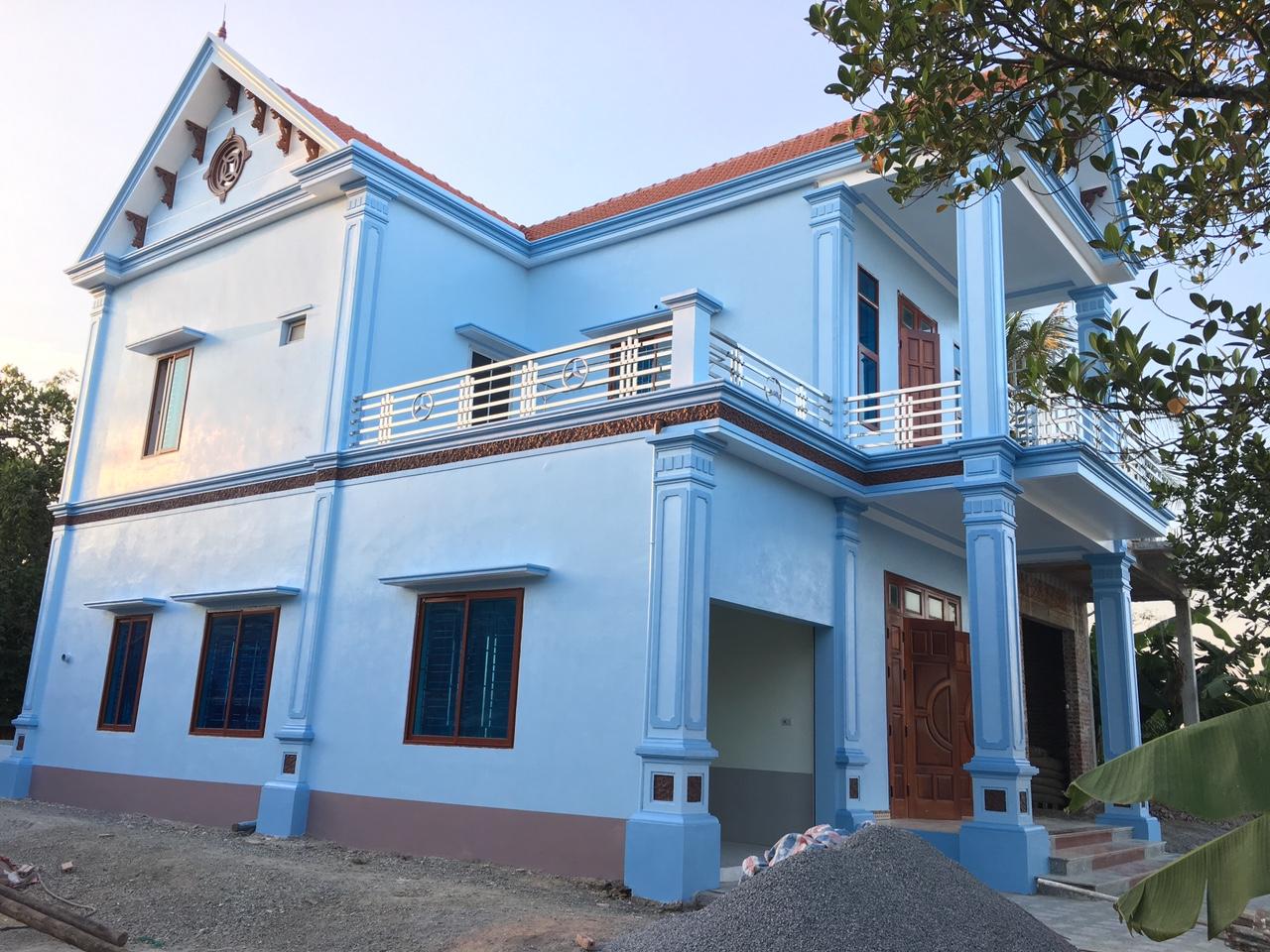 Công trình nhà Chú Khoan tại Nam Định