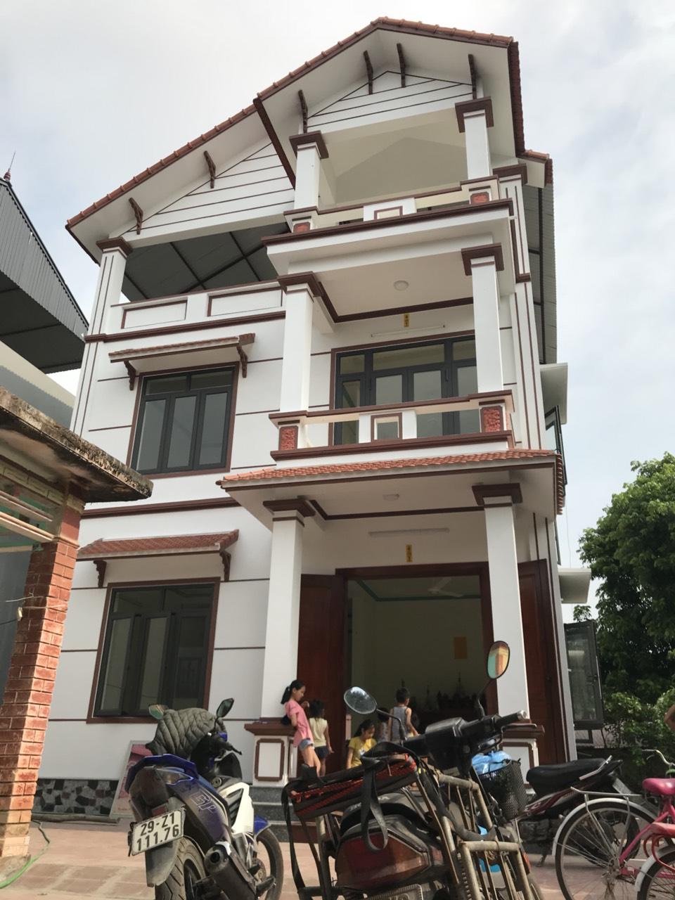 Công trình nhà chú Quang tại Hà Nội