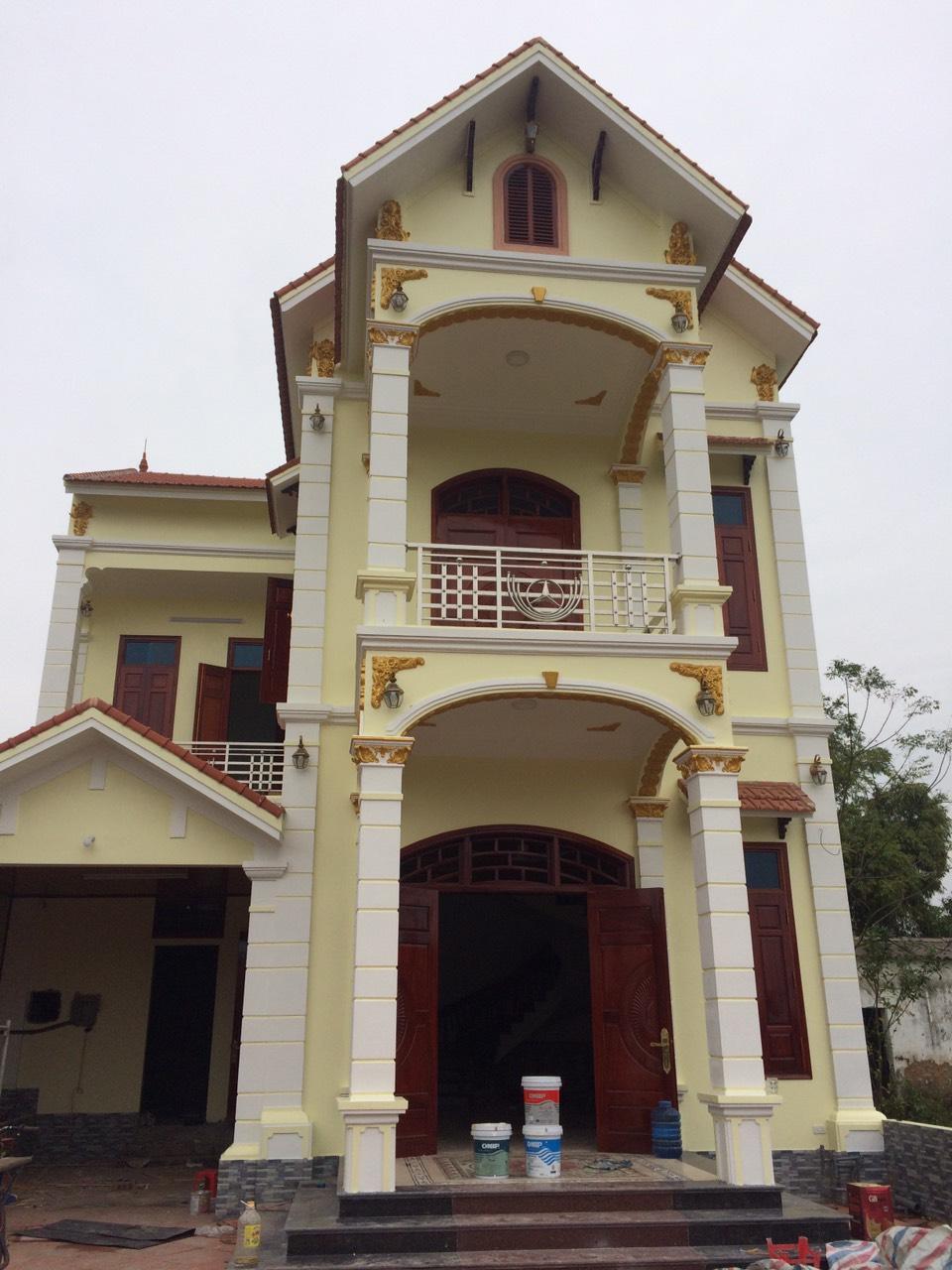 Công trình nhà anh Hoa tại Nam Định